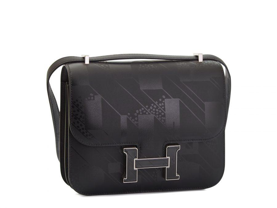 Hermes Constance Mini III,Limited Edition,Black